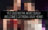 YES QUEENS! Pia Wurtzbach welcomes Catriona Gray home!