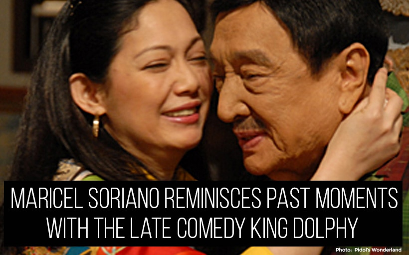 Maricel Soriano reminisces past moments with the late Comedy King Dolphy