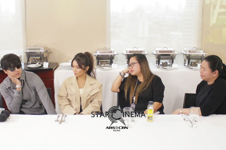 Kathryn, Daniel, Direk Cathy, and Carmi at the 'After Forever' storycon