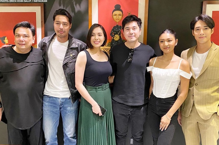 The cast of upcoming primetime series 'Burado'