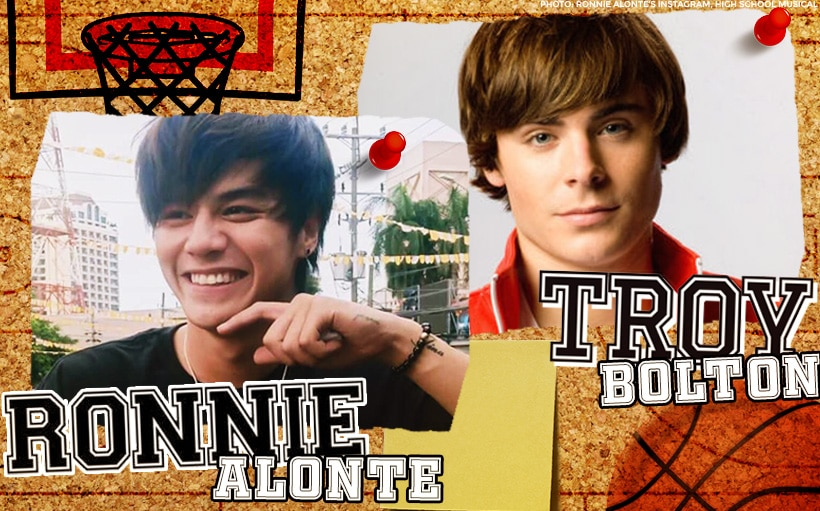5 reasons why Ronnie Alonte reminds us of Troy Bolton of 'High School Musical'