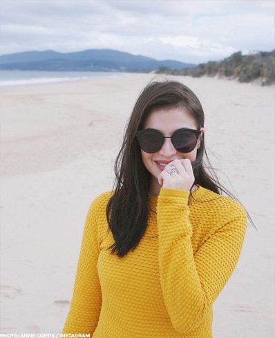 Anne Curtis being the National Sweetheart that she is