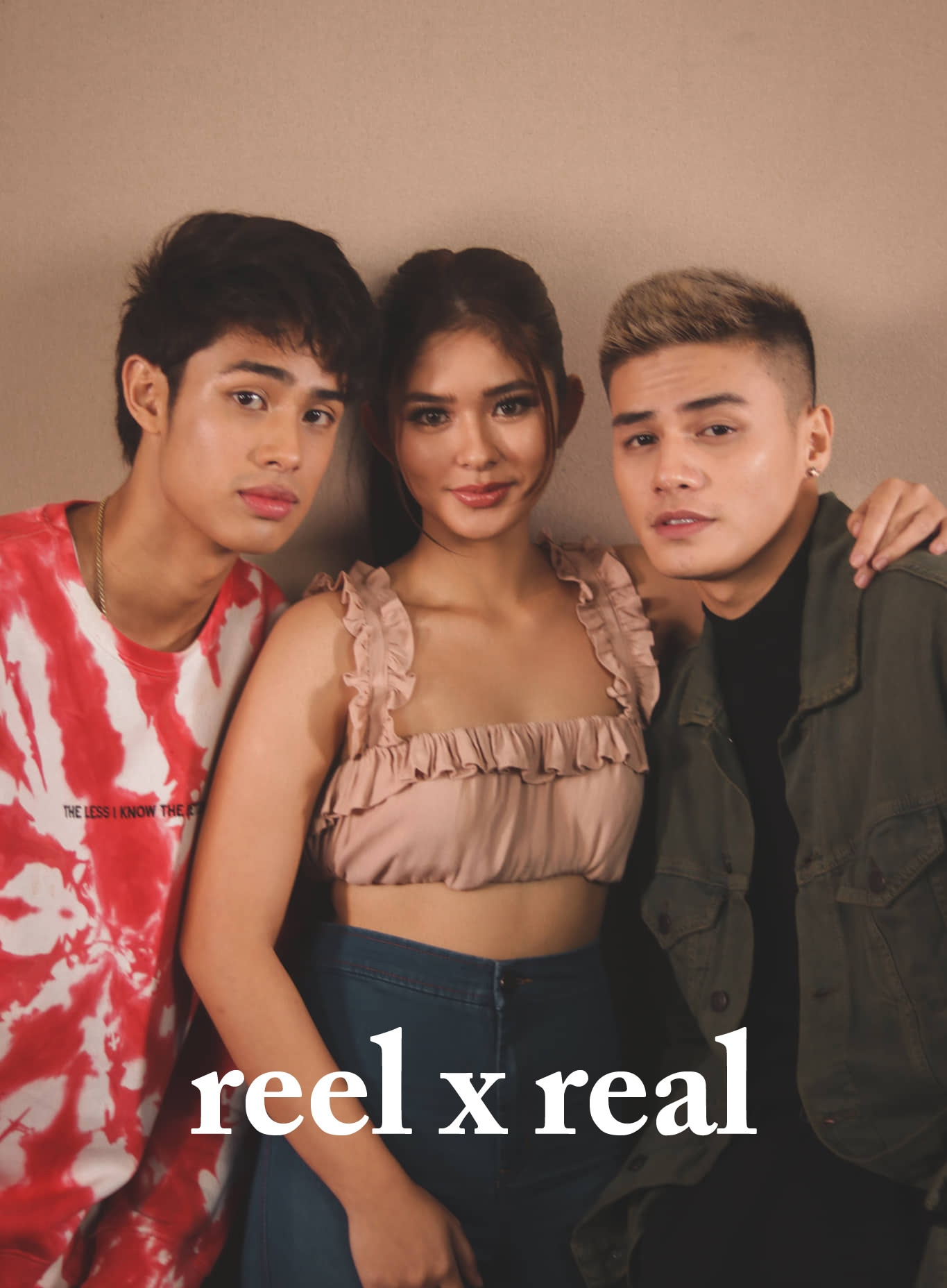 Ronnie, Loisa, Donny snaps from ReelxReal shoot!