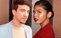 Arjo shows support for Maine at the launch of her new lipstick collaboration!