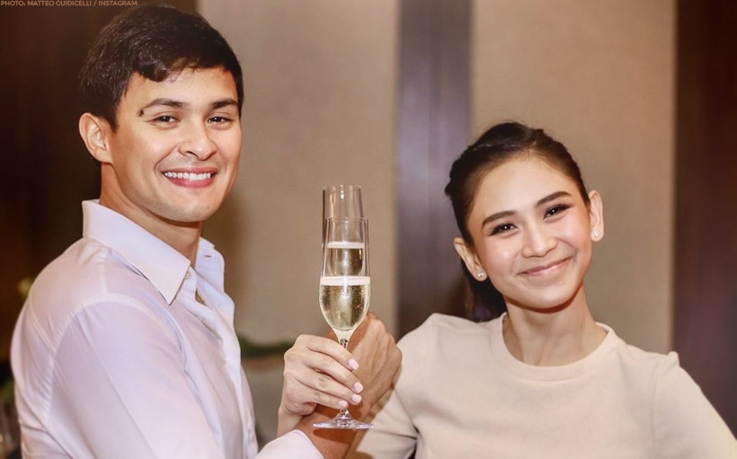 Matteo breaks silence about wedding to Sarah: 'Nothing will ever defeat pure honest love'