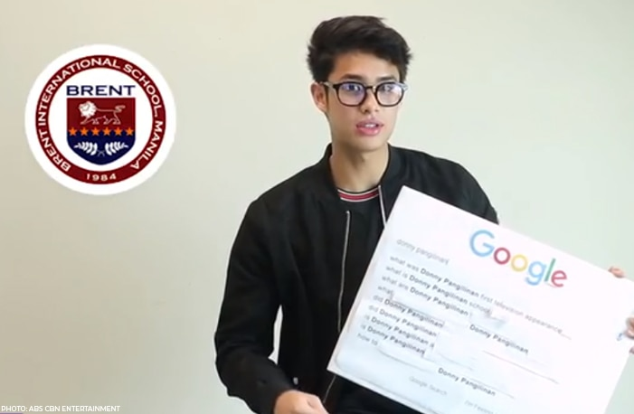 Donny Pangilinan is a student at UP Open University