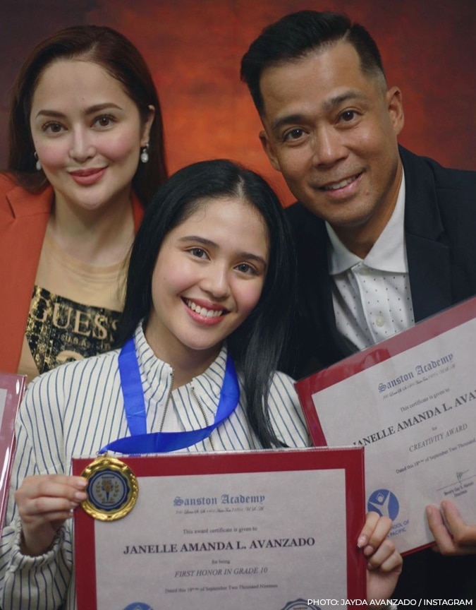 Jayda Avanzado is homeschooled and an academic achiever, she is now graduating from Senior High
