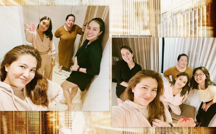 'Sisters' Kathryn, Julia, and Dimples celebrate their decade-long friendship!