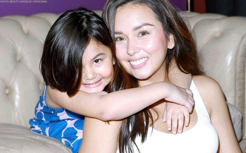 'You are a special one, my love': Beauty Gonzalez marks daughter Olivia's fifth birthday!