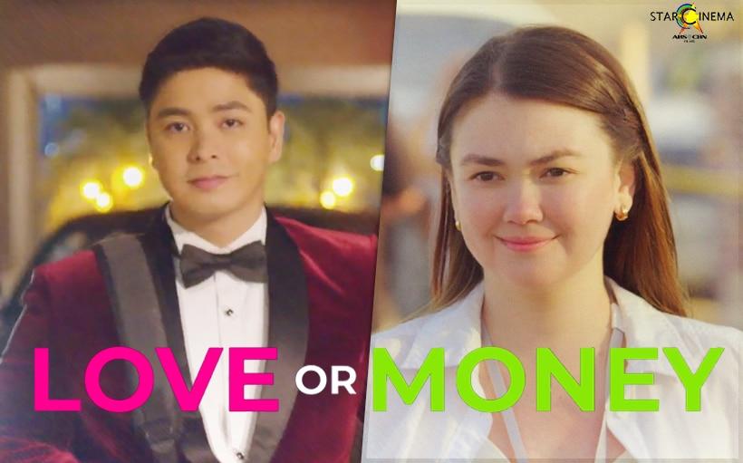 'Yakap o Yaman?' Watch Coco Martin and Angelica Panganiban in 'Love or Money' trailer
