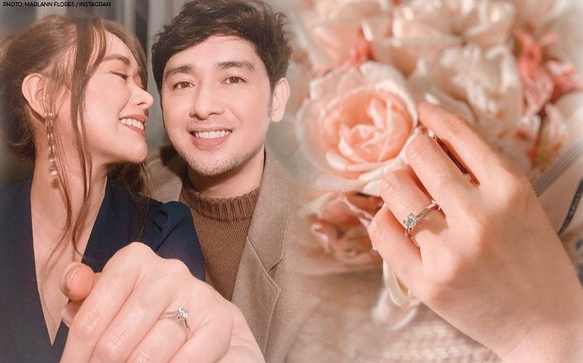 Bryan Santos is engaged to Marlann Flores!