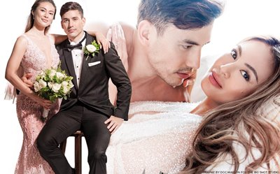 PHOTOS: Sam Pinto and Anthony Semerad's stunning second prenup shoot