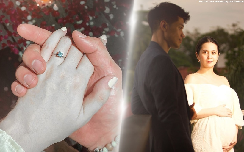 Vin Abrenica shares follow-up to viral photo with fiancé Sophie Albert