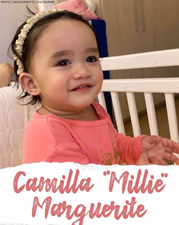 Dani Barretto and Xavi Panlilio's daughter Camilla