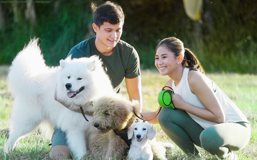Sarah, Matteo mark first wedding anniversary with their 'family photo'