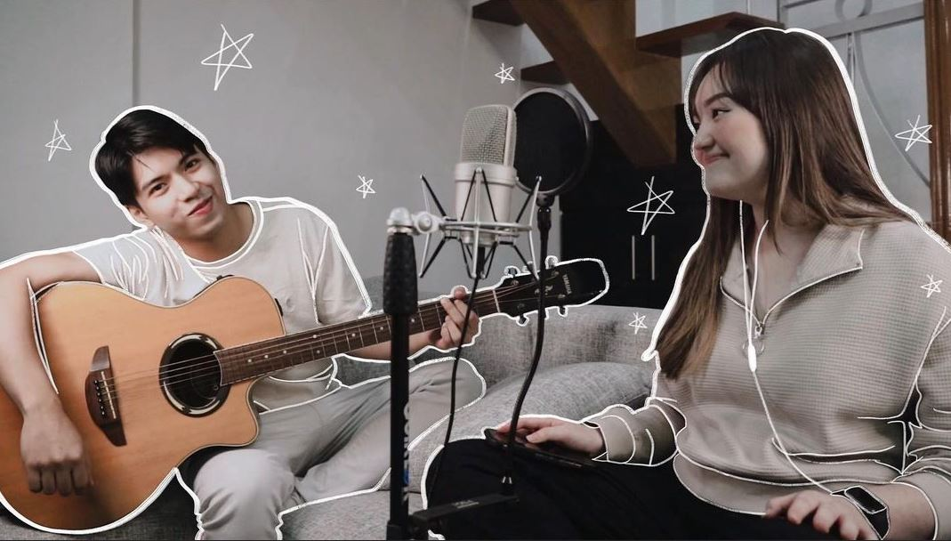 Mika Dela Cruz and Nash Aguas are dating, and collaborate for Youtube videos from time to time