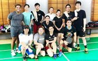 PHOTOS: Joshua Garcia joins KathNiel in a badminton match!
