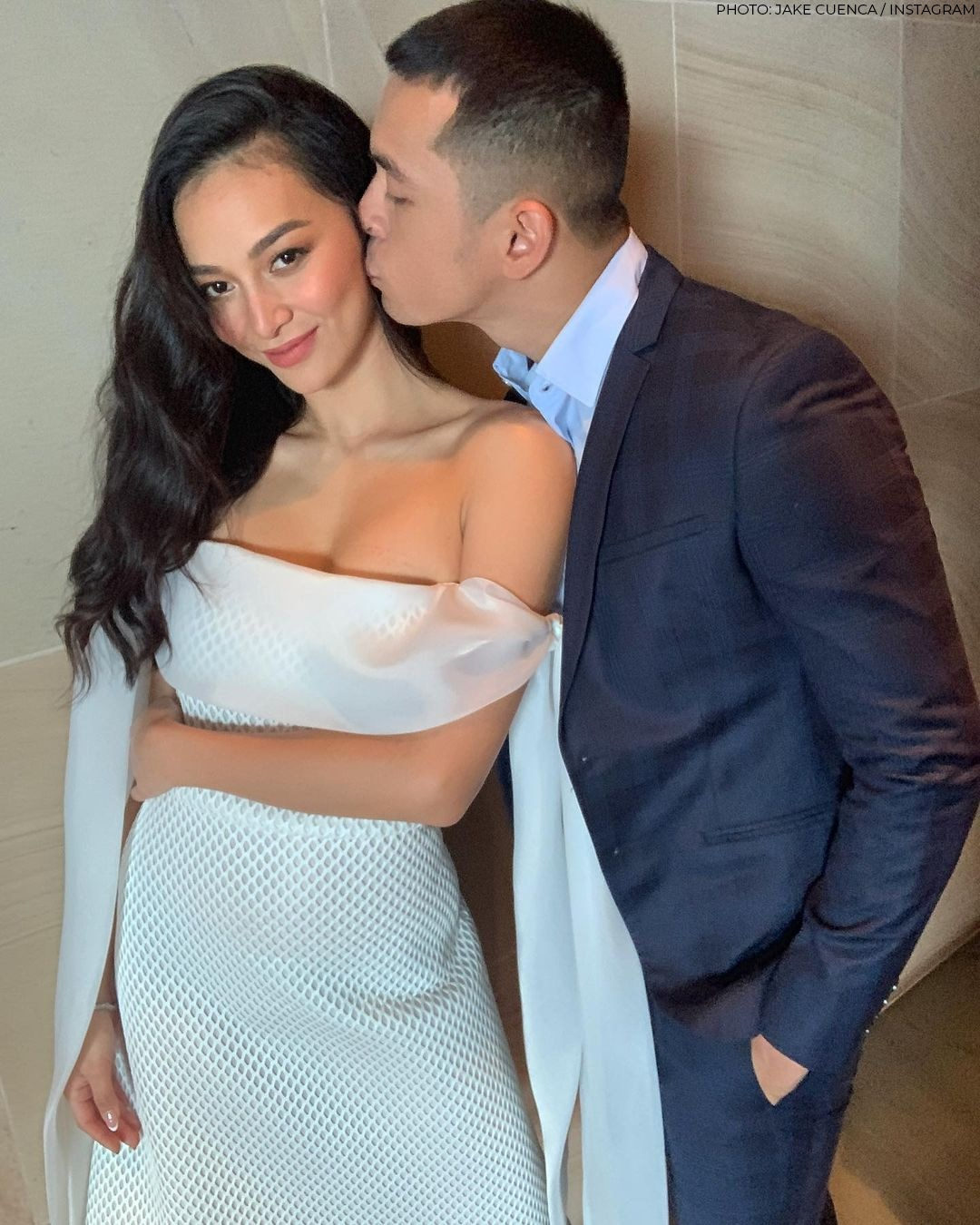 Jake Cuenca and Kylie Verzosa