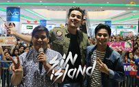 Xian Lim and McCoy de Leon at SM San Mateo for 'Sin Island' mall show