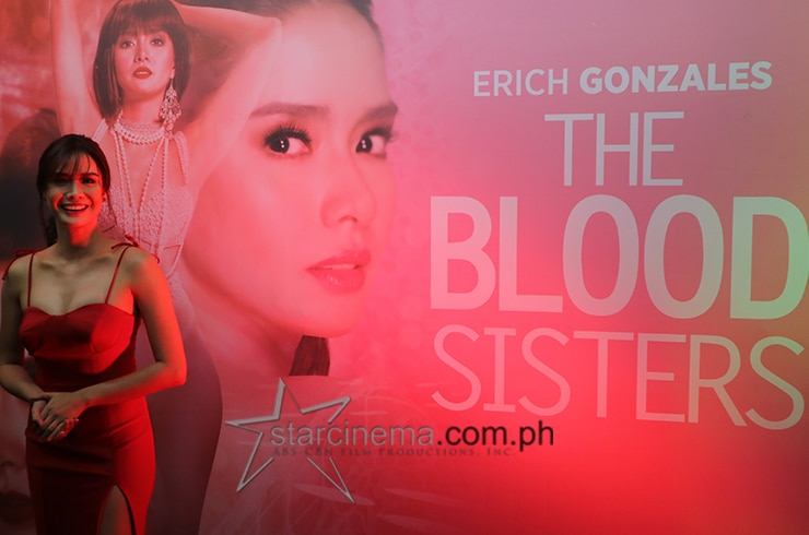 Erich Gonzales 'The Blood Sisters' media conference 1