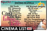 Cinema List of 'Can't Help Falling In Love'