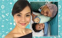 Carmen Soo is officially a MOMMA! ❤