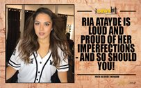 Ria Atayde is loud and proud of her imperfections - and so should you!