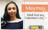 Maymay, hindi feel ang Valentine's Day?!