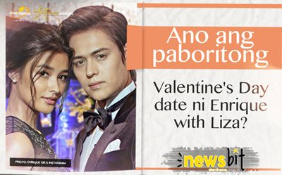Ano ang paboritong Valentine's Day date ni Enrique with Liza?