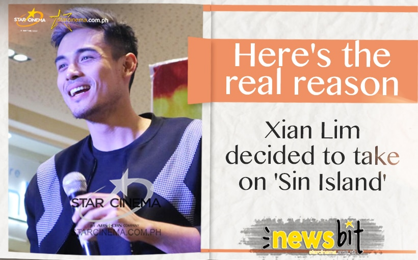 Here's the real reason Xian Lim decided to take on 'Sin Island'