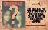 This rare and precious throwback photo shows Charo Santos is one ageless #lifepeg!