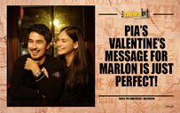 Pia's Valentine's message for Marlon is just perfect!