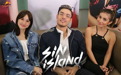 Super fun Star Cinema Chat with 'Sin Island' stars Xian Lim, Nathalie Hart, and Coleen Garcia