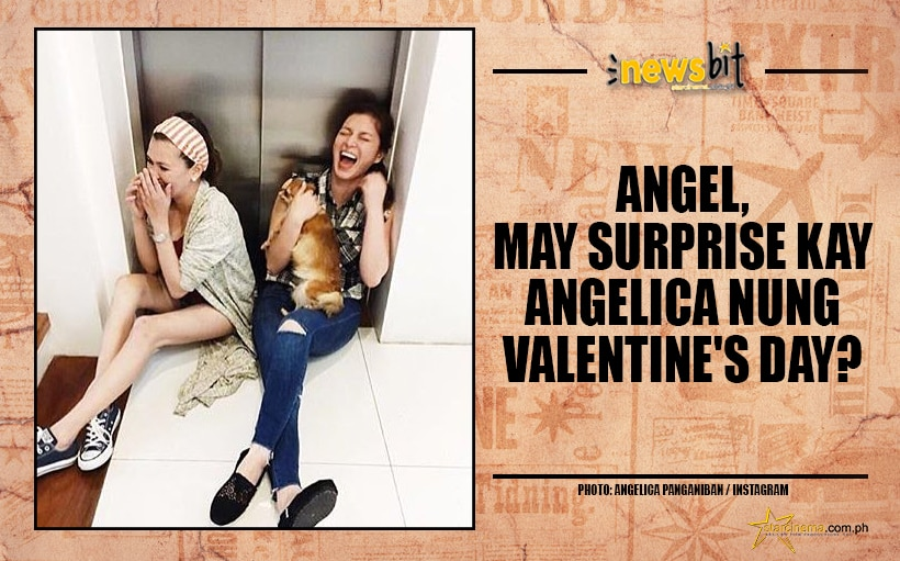 Angel, may surprise kay Angelica nung Valentine's Day?