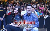 Lovi Poe at Ayala Malls Cloverleaf for 'The Significant Other'