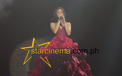 Kisses Delavin dazzles at her 'Confidently' concert