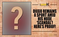 Diego remains a sport amid his nude 'scandal'! Here's proof!