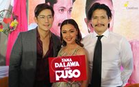 Robin, Richard, and Jodi at 'Sana Dalawa Ang Puso' media launch