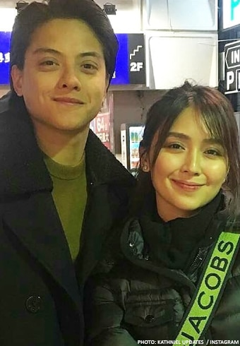 Kathryn Bernardo and Daniel Padilla were pictured together in Japan.
