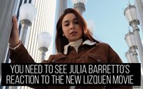 You need to see Julia Barretto's reaction to the new LizQuen movie 'Alone/Together'!