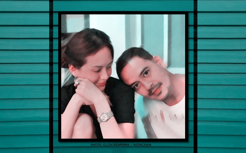 Is this John Lloyd Cruz and Ellen Adarna's first family portrait with Baby Elias?