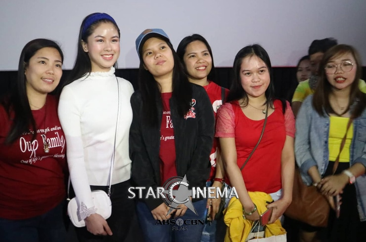 Kisses received more love from her supporters