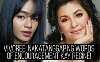 Vivoree, nakatanggap ng words of encouragement kay Regine!