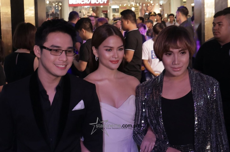 McLisse with Milo at the