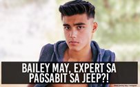 Bailey May, expert sa pagsabit sa jeep?!