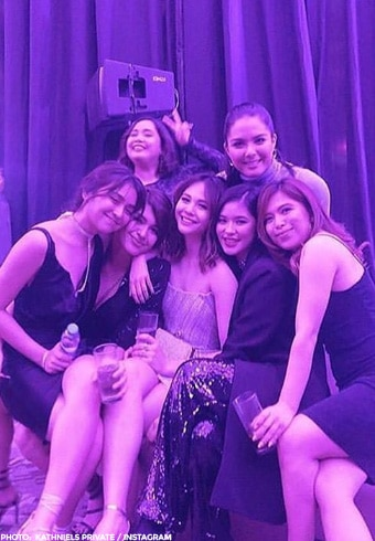 Girl power! Kathryn, Jane, Janella, Loisa, and Ria in one photo!