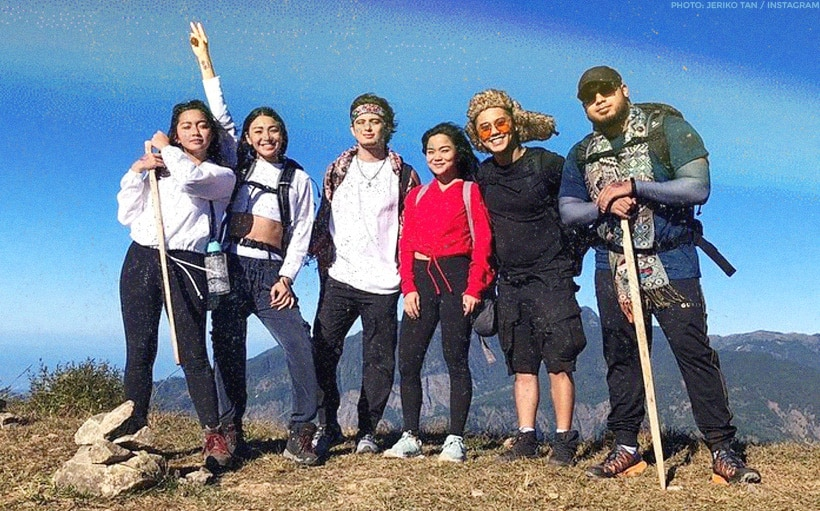 James Reid and Nadine Lustre hike Mt. Ulap together!