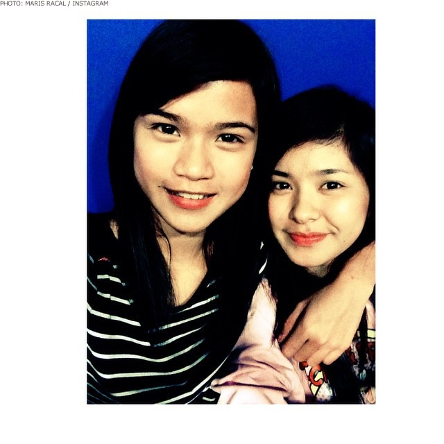 Maris Racal with Loisa Andalio in 2014