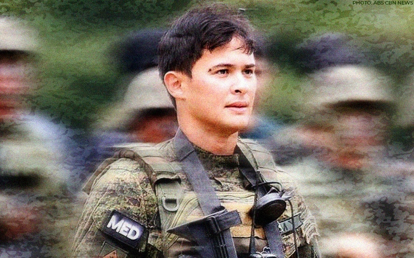 Matteo Guidicelli join Philippine Army's relief operations in Batangas