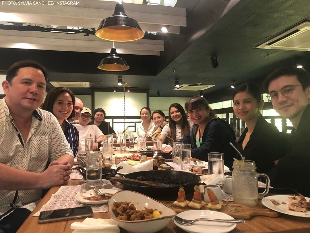 Maine joined the Ataydes for dinner